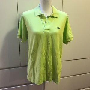 Men's Lacoste polo size 4
